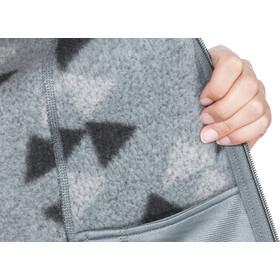 The North Face Crescent Full-Zip Damen mid grey aztec print